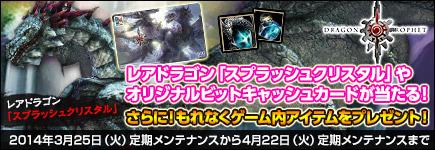 ドラゴンズプロフェット×ビットキャッシュキャンペーン!!