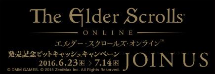 エルダー・スクロールズ・オンライン発売記念ビットキャッシュキャンペーン